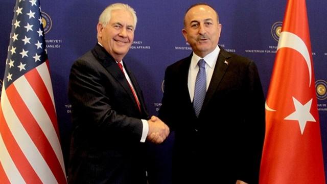 Dışişleri Bakanı Mevlüt Çavuoğlu ile ABD Dışişleri Bakanı Rex Tillerson Telefonda Görüştü!