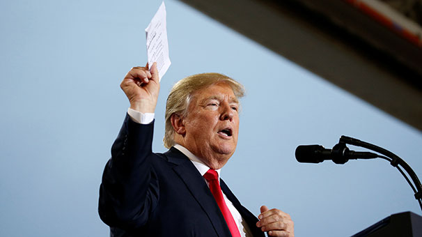 ABD Başkanı Donald Trump'a Tepki Yağdı!