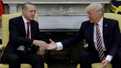 ABD Başkanı Donald Trump ile Cumhurbaşkanı Recep Tayyip Erdoğan görüştü