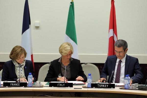 Türkiye, Fransa ve İtalya'dan ortak savunma anlaşması