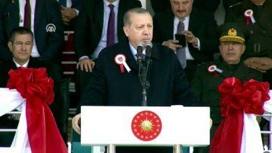 Erdoğan astsubay mezuniyet töreninde konuştu