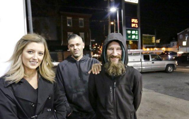 Gece yarısı ıssız bir sokakta kalan genç kadın!